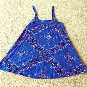 Mini bandana print summer dress